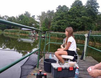 Zajęcia praktyczne szkółki wędkarskiej -  2019 rok